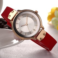 Fashion watches ladies stainless steel case water resistant alloy luxury silicone band