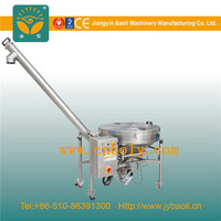 Stainess Steel Powder Screw Conveyor Feeding Hoppers