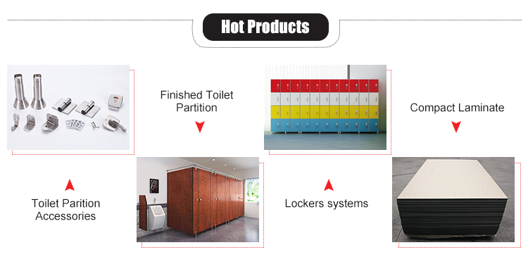 AOGAO high quality toilet partition hardware accessories