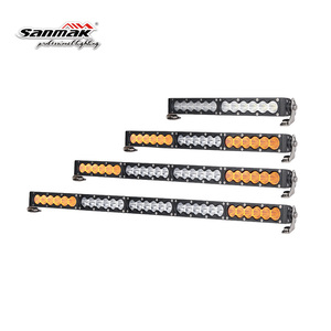 210w Super Slim White Amber Bar Light Offroad Wholesale LED Light Bar