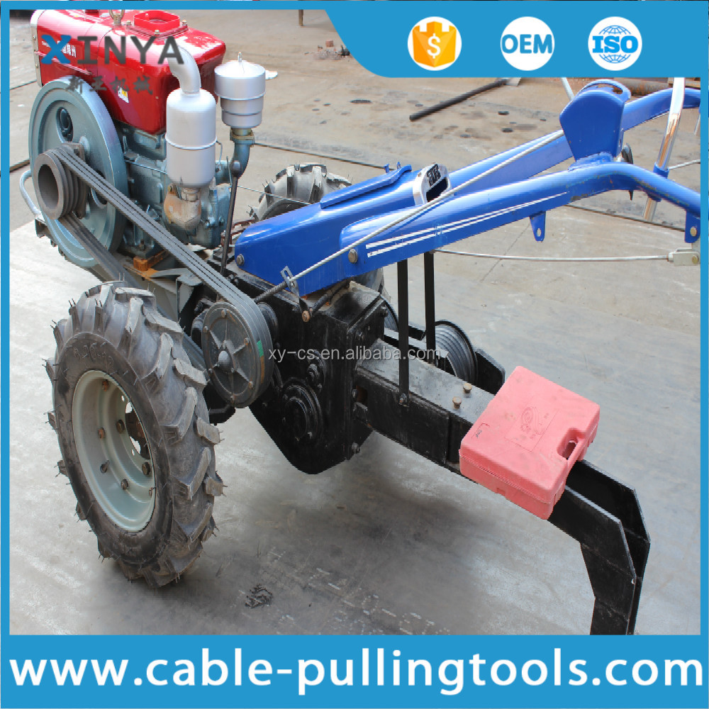 Walking Tractor 5 Ton Diesel Cable Pulling Winch