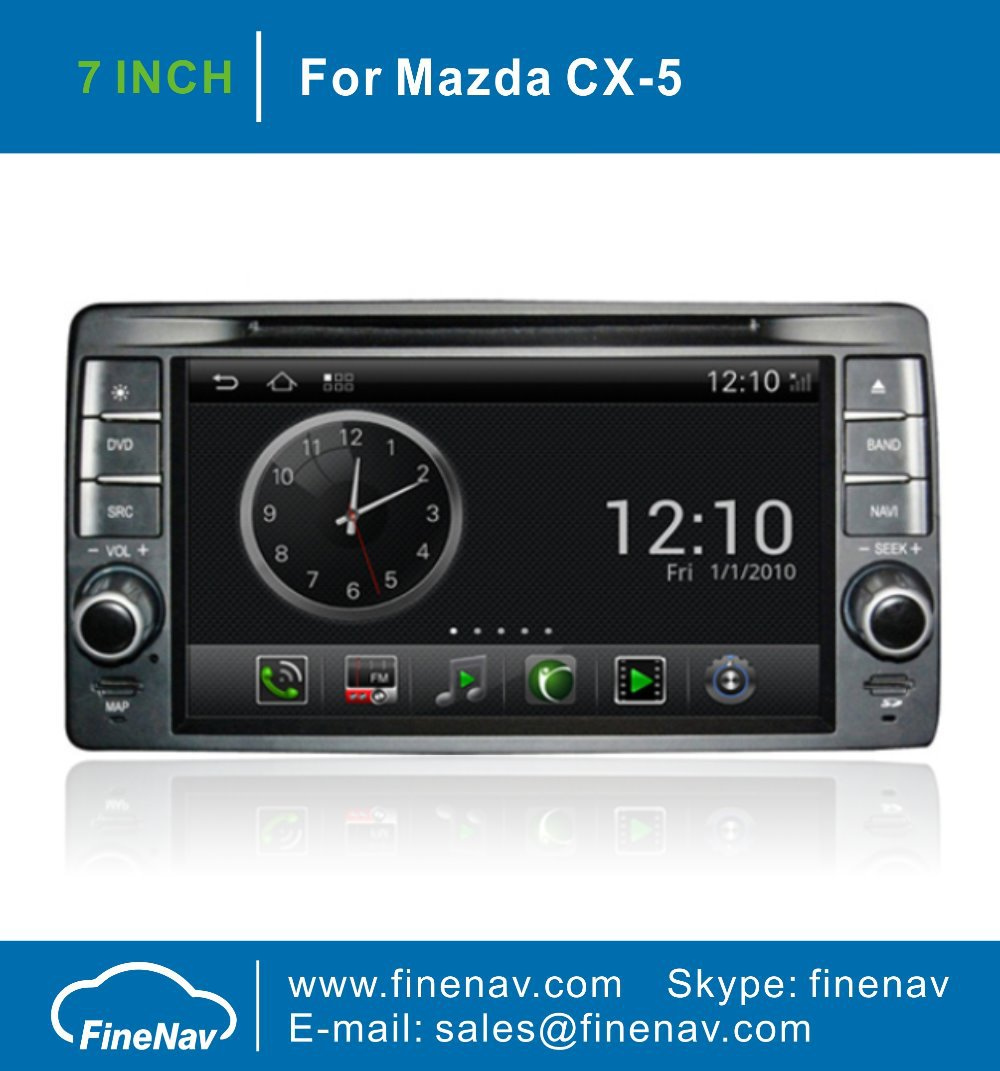 "Android OS S150 3G WiFi 7"" 2 DIN Car DVD Headunit Player For Mazda CX-5 CX5 With GPS Navi Radio Bluetooth TV iPod USB"