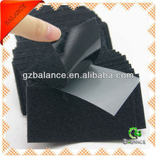 adhesive hook and loop sheets fastener