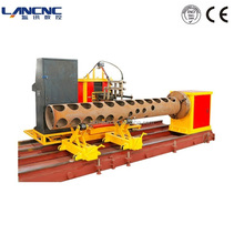 CNC pipe cutting intersection cutting machine