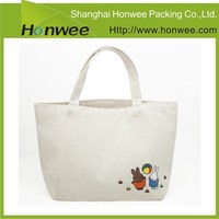 New Products Custom Plain Standard Size Canvas Tote Bag
