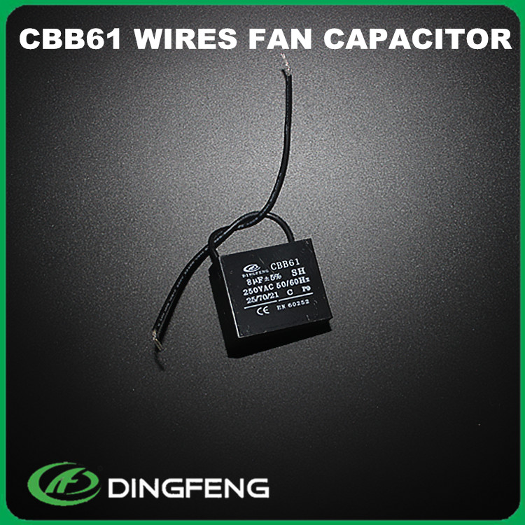 cbb61 8uf 450v capacitor 2wire use for fan mkp x2 capacitor
