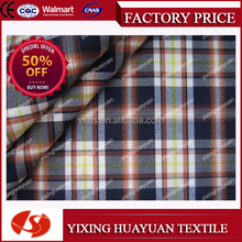 Yarn Dyed Twill 100% cotton mens shirt fabric