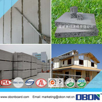 OBON fireproof calcium silicate 3 forms sandwich panels