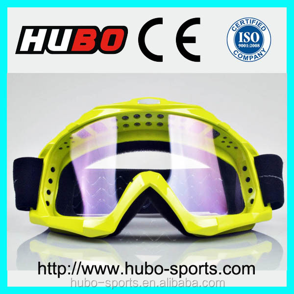 apple green frame silicone anti slip band best mx racing glasses