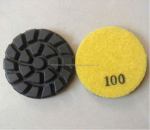 3inch Spiral hybrid transitional concrete polishing pads