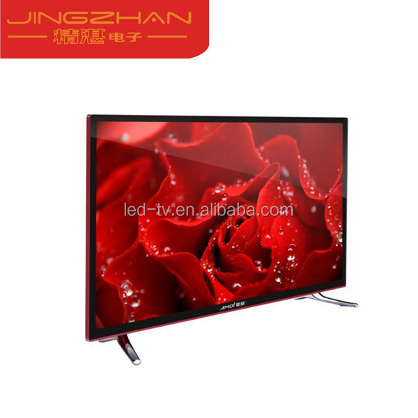 2017 led tv 32 inch led tv china satellite television 32'' lcd tv with A grade panel with webcam and USB VGA CI port