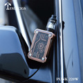 Best steampunk style e cig box mod Teslacigs punk 220W released to market now!