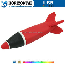 Hot Sale rocket shape usb flash drive