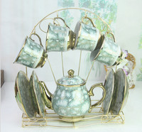 wholesale European style ceramic coffee sets