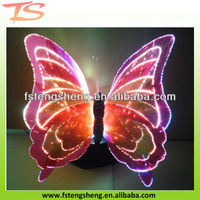 artificial LED butterfly lamp for garden decorartion