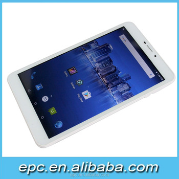 8 inch Super New design MTK8735 tablet 4G 1280*800 PX best price hot selling