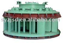Propeller turbine hydroelectric generator 6kv with inlet valve/governor/control panel/automatic system