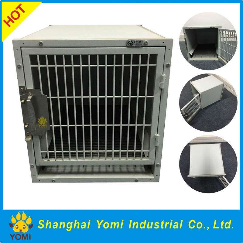 Large size iron stainless steel dog house
