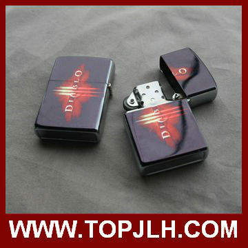 metal flame oil sublimation lighters best for promotional gift