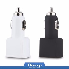 High quality dual USB port car charger with fast speed car charging