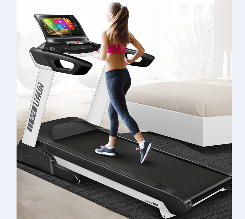 treadmill as seen on TV with USB TV wifi and more with EU Safety Standards ,with Adjustable Cushioning