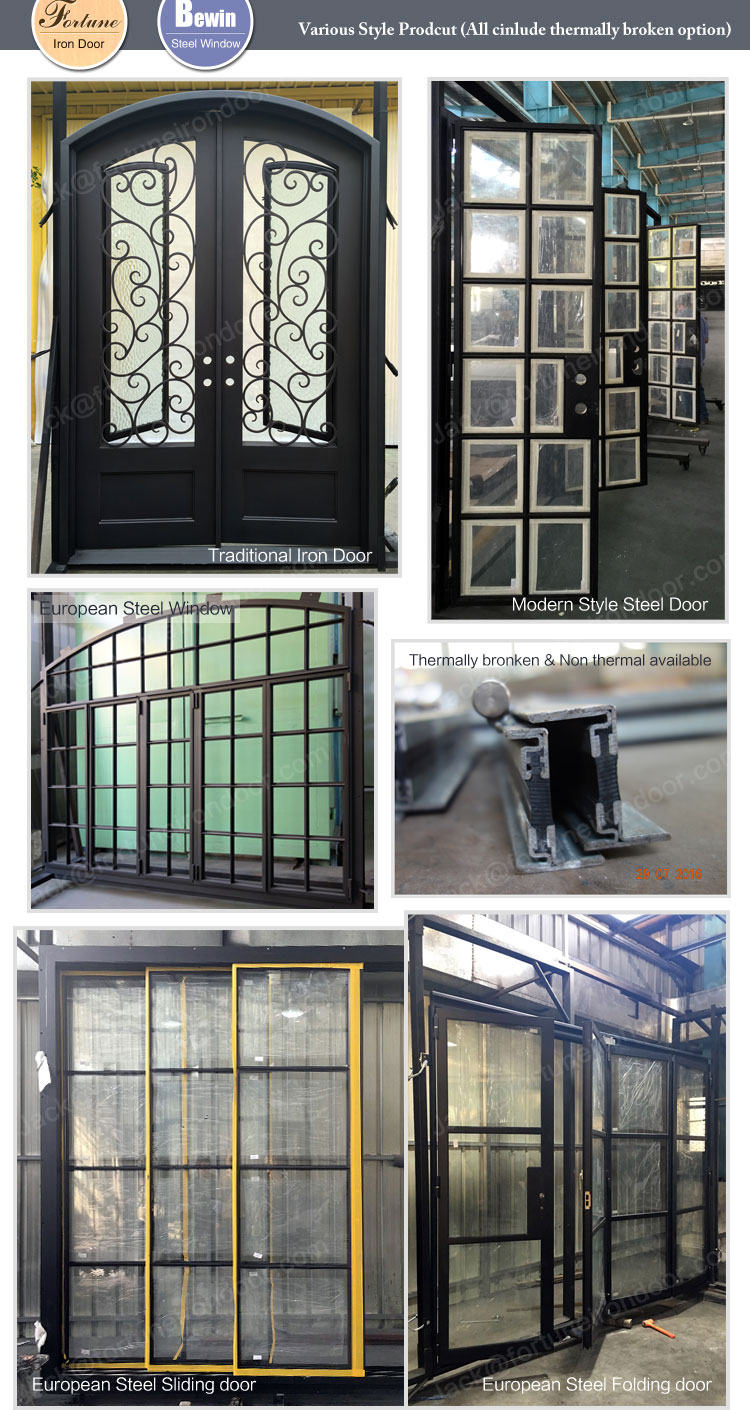 High End Steel French Doors With Competitive Price Buy High End