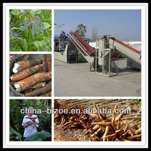 High capacity yam flour production line