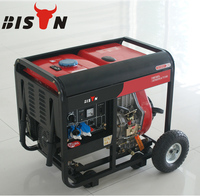 BISON CHINA Taizhou 2kw Open Type Strong Frame Escorts Diesel Generator Sets