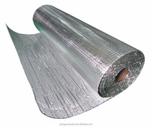 fireproof double bubble foil wrap white insulation material for garage door insulation