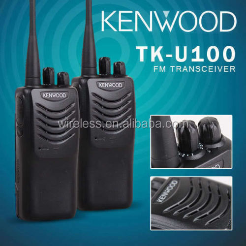 KenwoodS TK-U100 16CH UHF Rechargeable 2 Way Radio ,Walkie Talkie ,Transceiver
