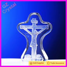 Hot Selling Excellent Crystal Cross Craft Of Jesus