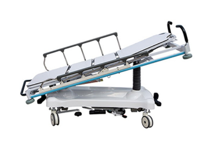 AC-ST0151 Height adjustable X-ray board use hydraulic patient transport stretcher