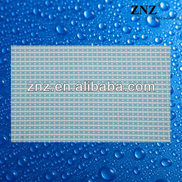 woven place mat, vinyl coated table cloth by ZNZ