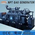 ISO approved silent 500 kw wood gas generator price