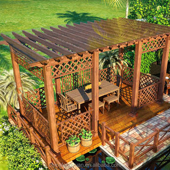 Various design for classical WPC pergola