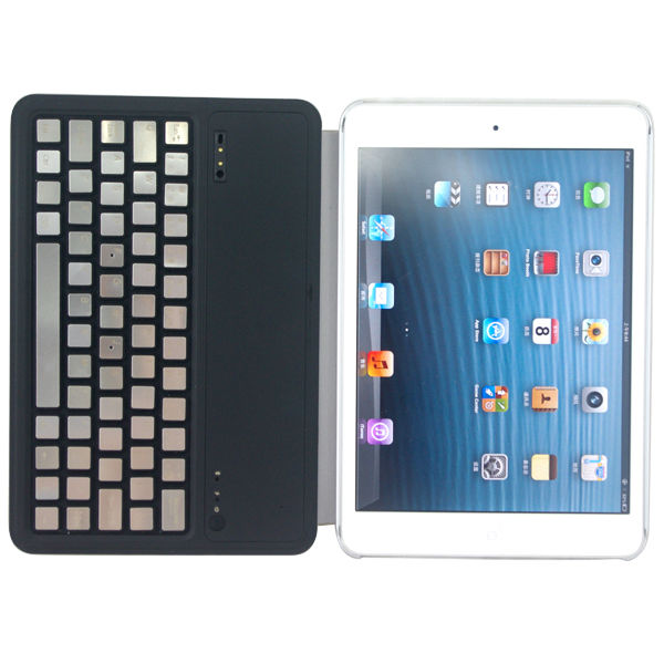 modern style designed bluetooth wireless keyboard for iPad mini with sleep mode