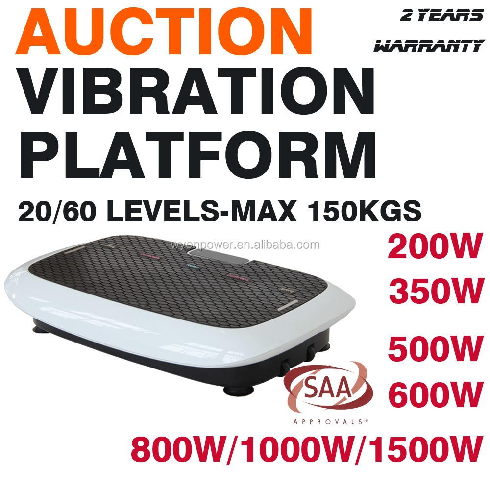 names of gym equipment small vibration plate
