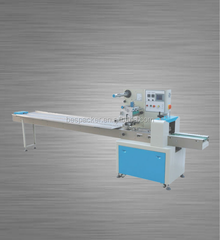 XK-280 Automatic Food/cake/ice lolly/biscuit /bread/bakery/snack Flow packing Machine