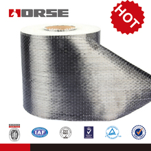 High quality 12k non-woven activated carbon fiber cloth for construction structural strengthening