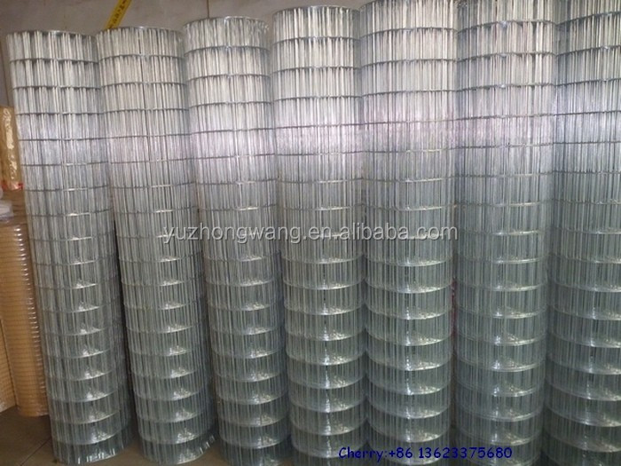 1 4 inch galvanized welded wire mesh