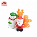 Christmas Holiday vinyl santa claus finger puppet