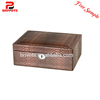 pink leather jewelry box/antique leather jewelry box/cardboard leather wine carrier box