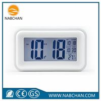 Wholesale smart white table clock digital alarm clock kids alarm clock