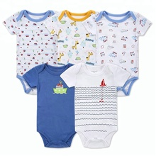 Personalized Custom Cartoon Personal China Suppliers Wholesale Ins Baby Boys Newborn Clothes