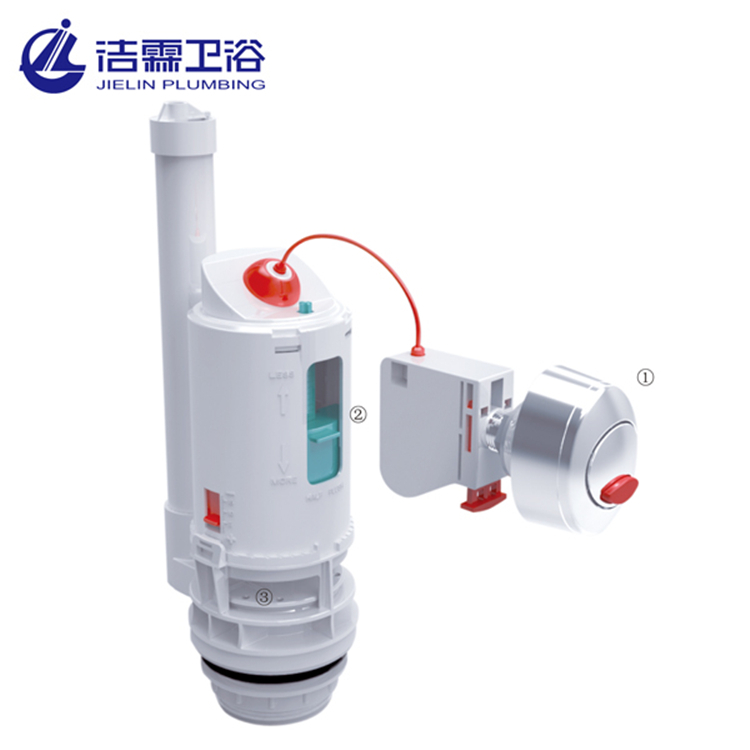 New type abs toilet cistern water tank parts T0219 toilet outlet valve