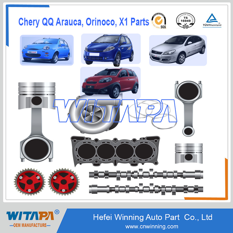 Over 9002 Kinds of Original A1 QQ A3 TIGGO Arauca X1 Orinoco Chery auto spare parts car