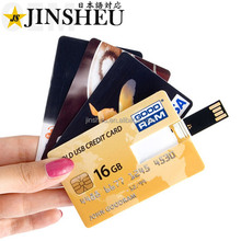 Wholesale promotional custom logo business card usb flash drive