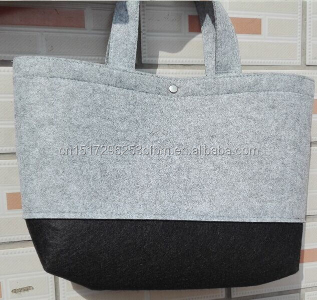 polyester felt shoulder bag women <strong>handbag</strong>