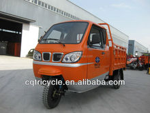 2014 new style orange closed cabin tricycle/enclosed tricycle