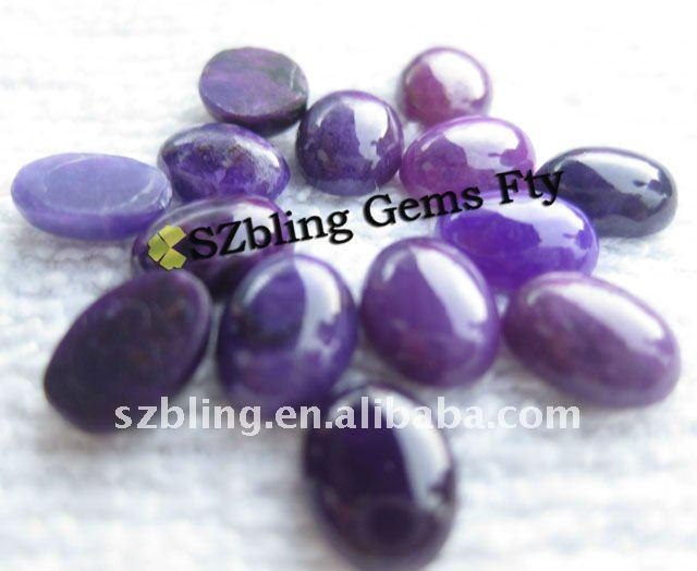 Hot seller lowest cost purple sugilite gemstone cabochon for ring setting